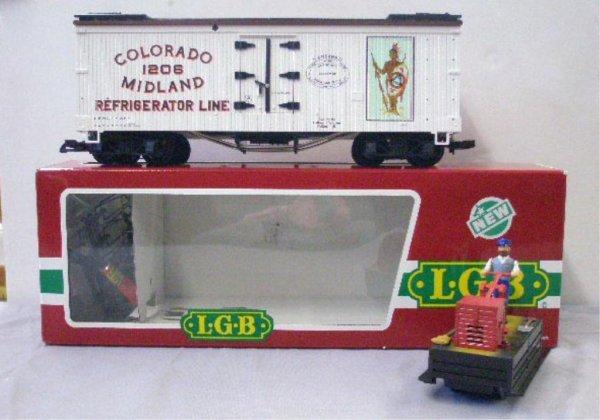1009: Lehman LGB G Scale trains