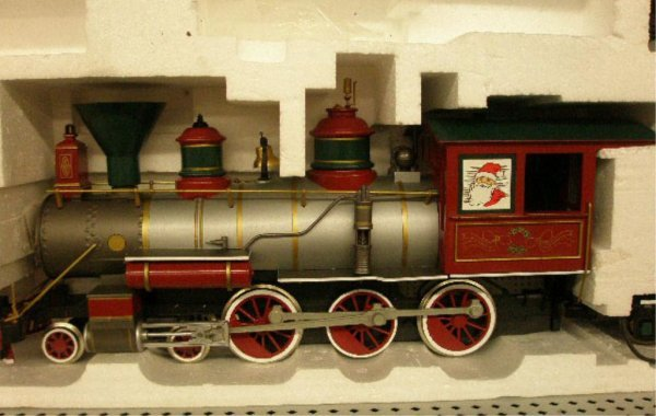 1010: Bachman G-Scale Christmas Train Set - 3