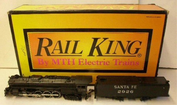 1016: MTH R King Santa Fe Northern Steam Engine & Tende