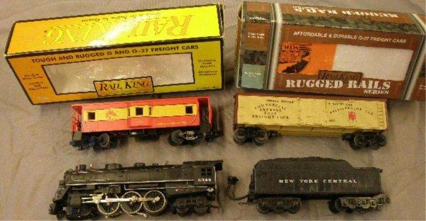 1017: MTH Rail King Trains