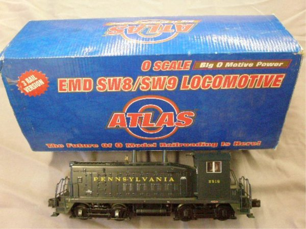 1019: Atlas O Scale Pennsylvania Diesel Locomotive