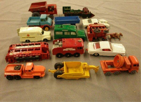 1120: 1950's-70's Lesney & Matchbox Cars