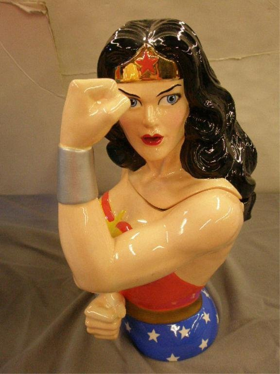 1216: Vandor Wonder Women Cookie Jar