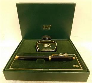 Cross Fountain Pen & Ink Set
