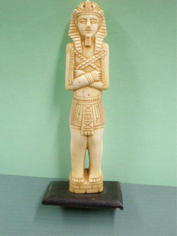1009: Egyptian Carved Ivory Figure