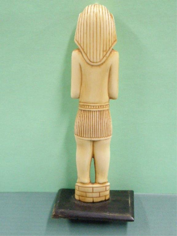 1009: Egyptian Carved Ivory Figure - 3