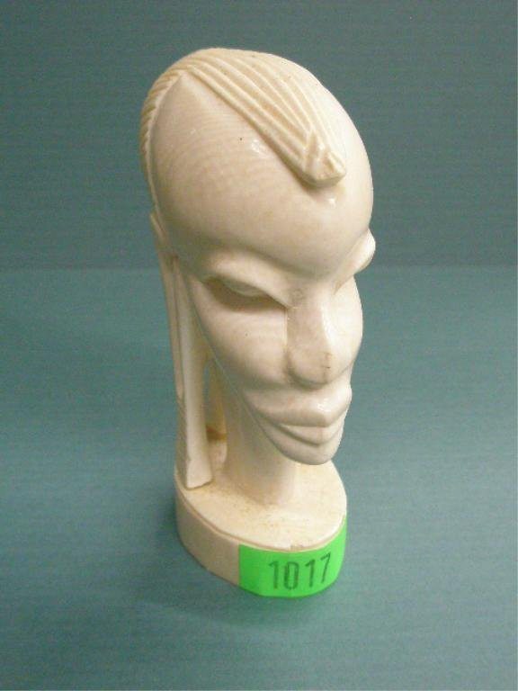 1017: African Ivory Bust of Female
