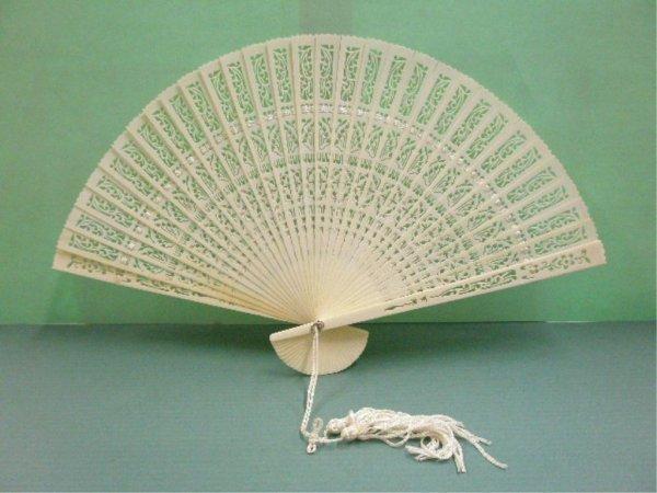 1026: Chinese Ivory Fan
