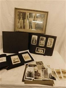 Lot 1940s Family Photographs