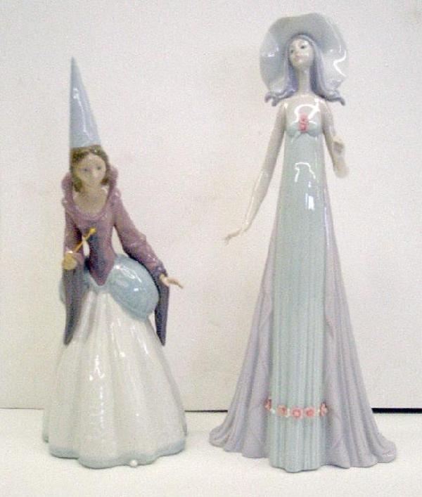 2000: NAO & Lladro Porcelain Figures