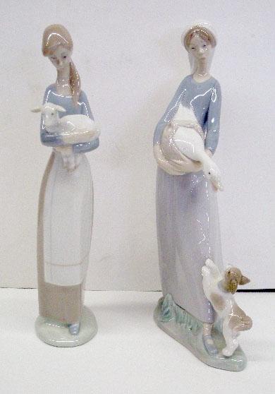 2006: Lladro Porcelain Figures