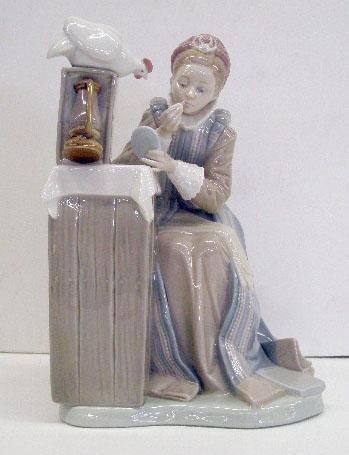 2008: Lladro Porcelain Summer Stock Figure