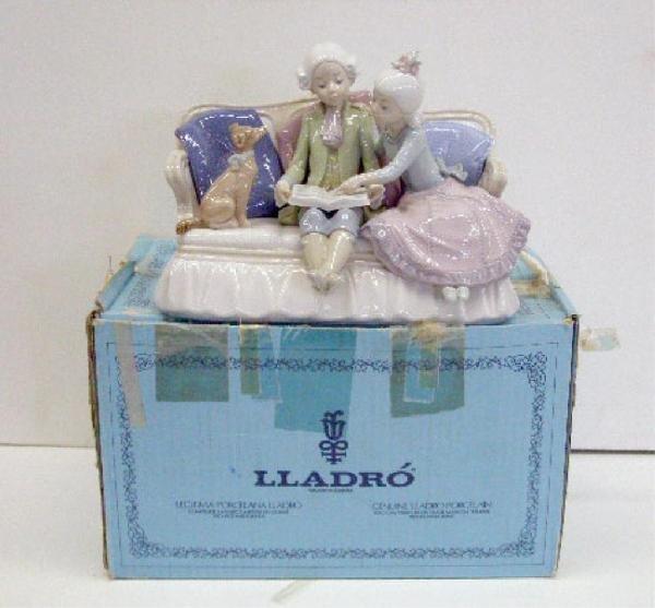 2010: Lladro Porcelain Story Time Figure