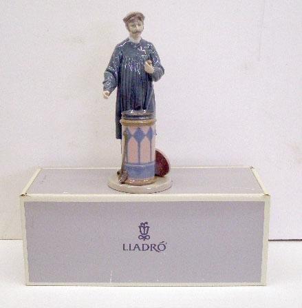 2012: Lladro Porcelain Predicting the Future Figure
