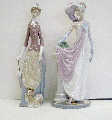 2015: Lladro Porcelain Figures
