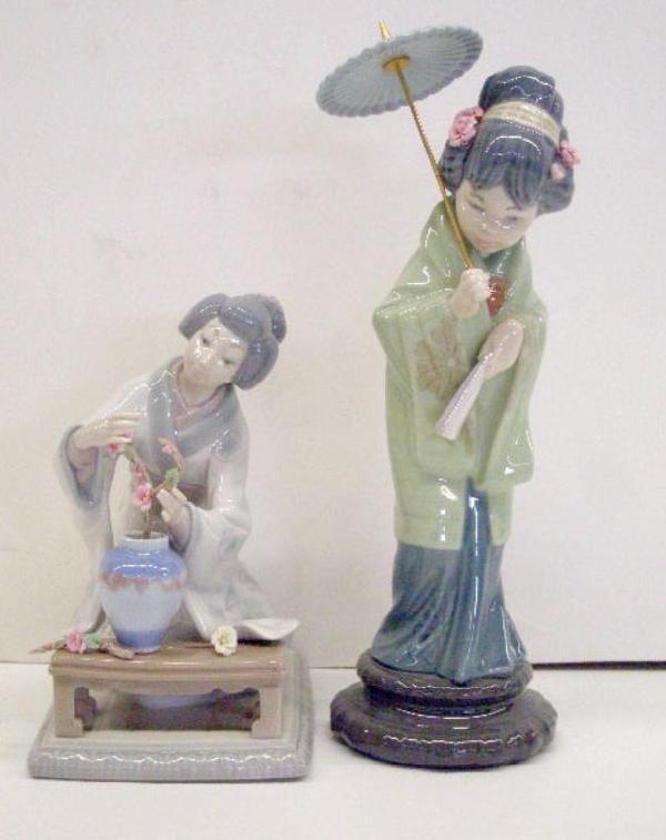 2018: Lladro Porcelain Figures