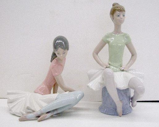 2023: Lladro Porcelain Shelley & Laura Figures