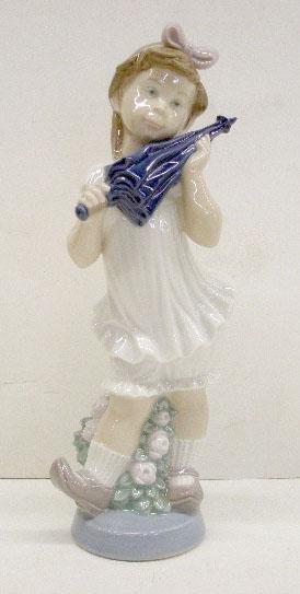 2024: Lladro Porcelain Sweet Girl Figure