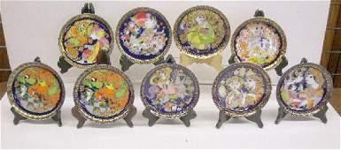 2069: Rosenthal Porcelain Bjorn Winblad Plates