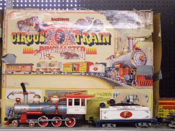 1003: Bachman G Scale Emmett Kelly Train Set