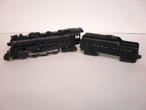 1006: Post War Lionel Locomotive & Tender