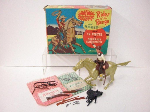 1193: Marx Roy Rogers Rider of the Range Playset