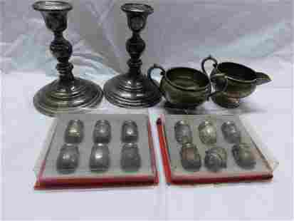 Sterling Silver Tableware Group