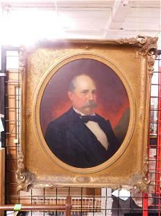19th C Portrait Painting
