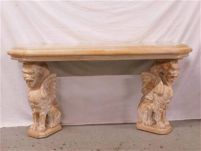 Egyptian Revival Console Table