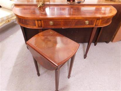 Federal Style Console & End Table