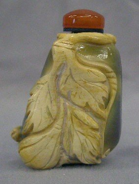 Hard Stone Carved Snuff Bottle