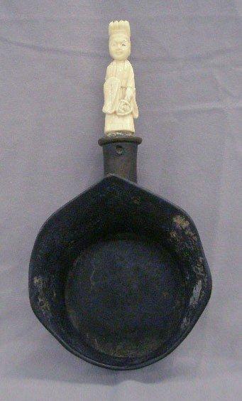 Chinese Bronze Ladle