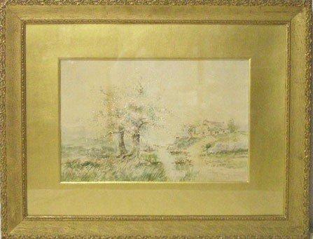 R. Hills Bemish, Watercolor