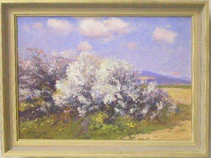 "[Joseph] Boksay(Bokshai) ""Spring Blossoming"""