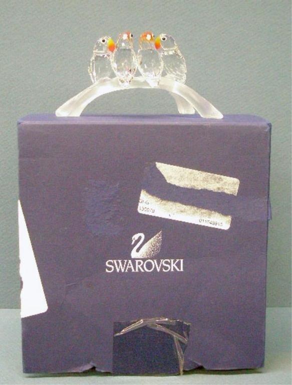 2103: Swarovski Baby Lovebirds Figure