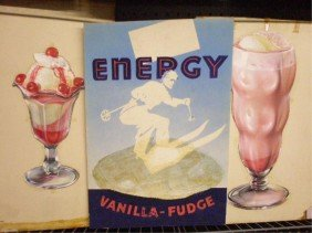 3: 1950's/1960's Ice Cream Ad Campaign Displays