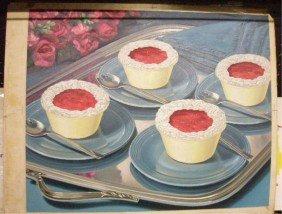 4: 1950's Aristocrat Ice Cream Display Ad & Drawings