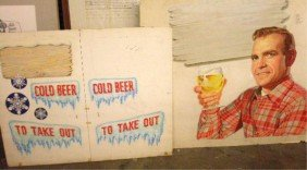 1950's Beer Ad Campaign Designs