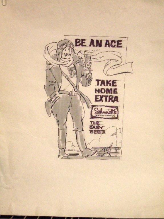 10: 1970's Schmidt's Beer Ad Campaign Designs