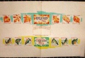 12: 1970's Schmidt's Beer Ad Campaign Designs
