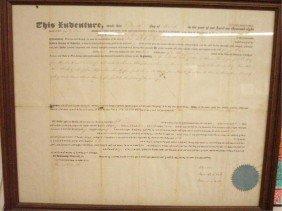 22: 1857 New Jersey Indenture