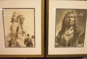 24: Vintage Native American Indian Prints