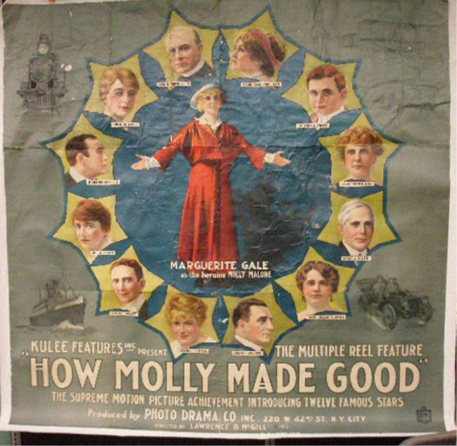 52: 1915 How Molly Made Good Movie Poster