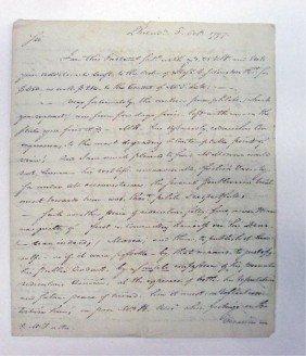 183: Hamilton-Reynolds Letter to Thomas Jefferson 1797