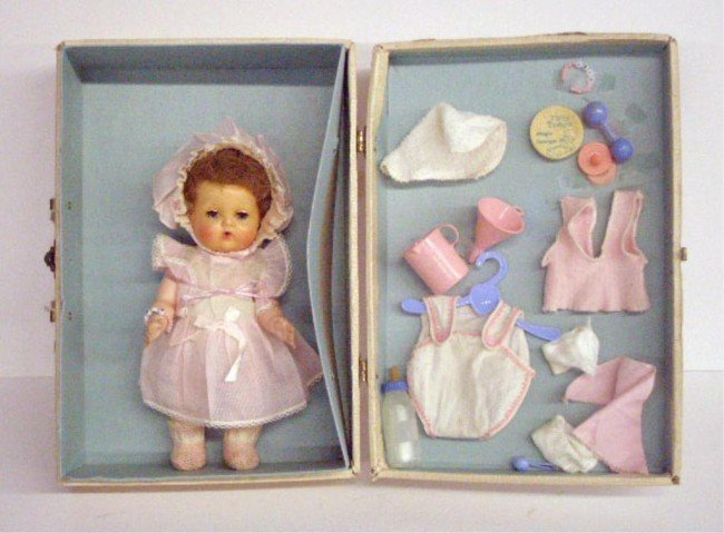3: 1960's American Character Tiny Tears Doll