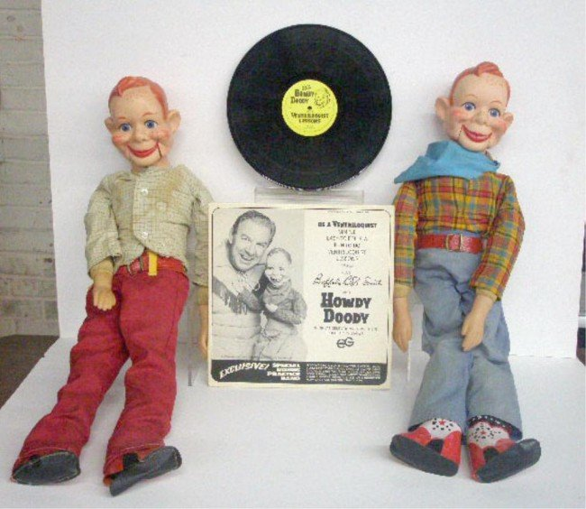 7: Howdy Doody Ventriloquist Dolls