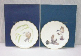 2002: Royal Worcester Birds of Dorothy Doughty Plates