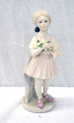 2005: Cybis Girl w/Flowers Figure