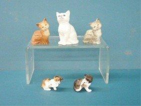 2012: Royal Doulton Cat Figures