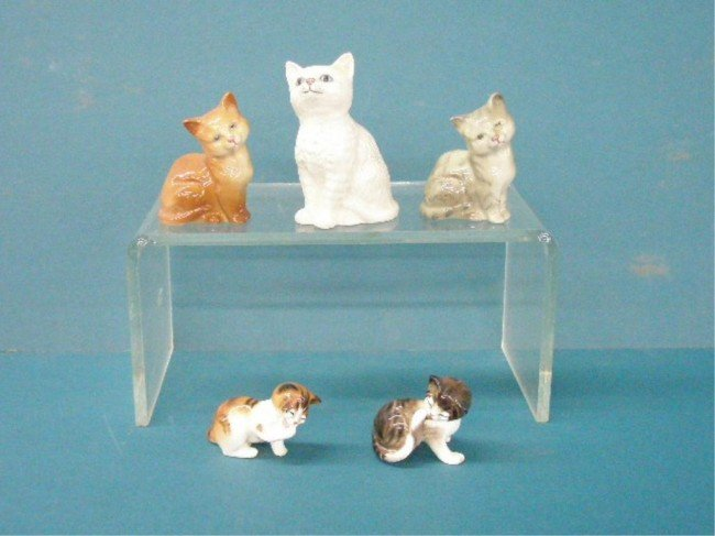 2012: Royal Doulton Cat Figures